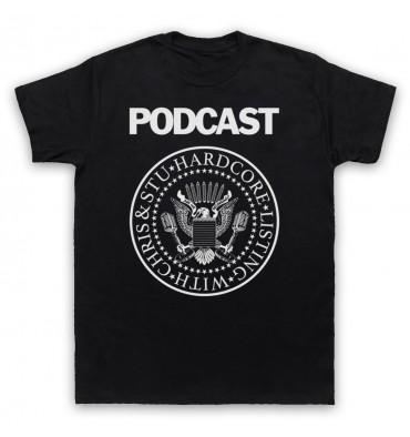 Hardcore Listing with Chris & Stu Ramones Inspired Logo T-Shirt
