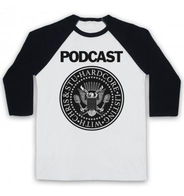 Hardcore Listing with Chris & Stu Ramones Inspired Logo Baseball Tee