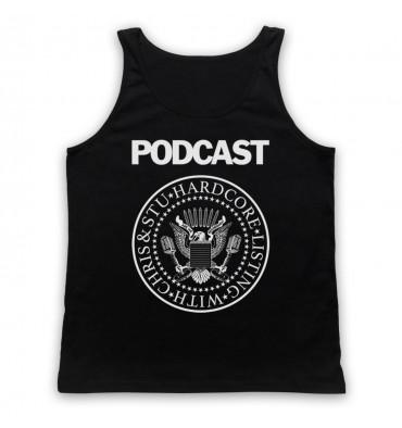 Hardcore Listing with Chris & Stu Ramones Inspired Logo Tank Top Vest