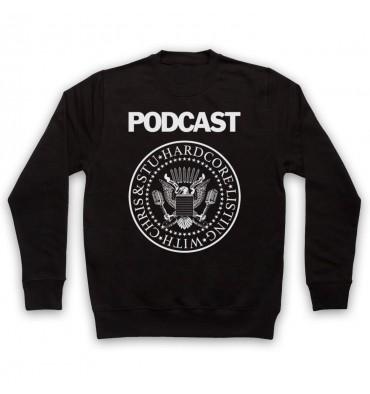 Hardcore Listing with Chris & Stu Ramones Inspired Logo Sweatshirt