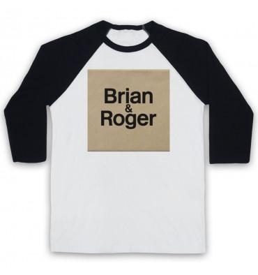 Brian & Roger Logo Baseball Tee