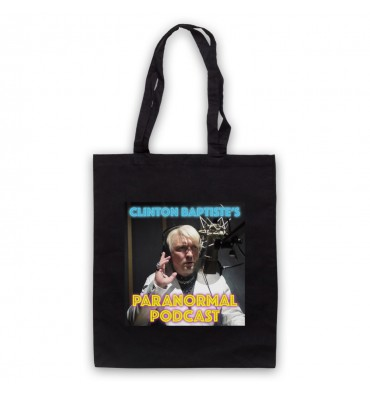 Clinton Baptiste's Paranormal Podcast Tote Bag