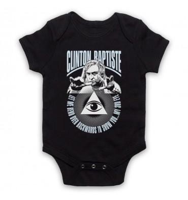 Clinton Baptiste Let Me Show You My 3rd Eye Baby Grow Bib