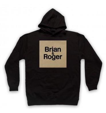 Brian & Roger Logo Hoodie