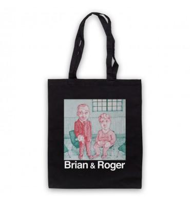 Brian & Roger Tote Bag