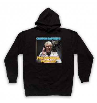 Clinton Baptiste's Paranormal Podcast Hoodie