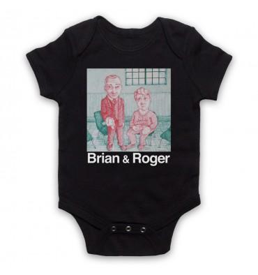 Brian & Roger Baby Grow Bib