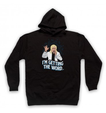 Clinton Baptiste I'm Getting The Word Hoodie