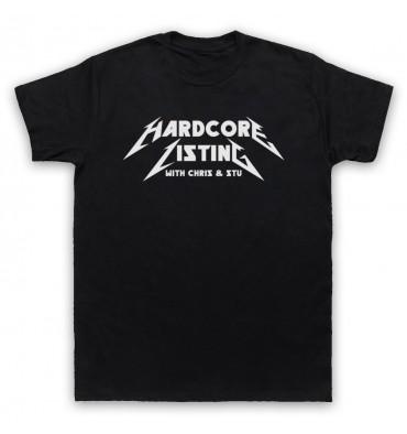 Hardcore Listing with Chris & Stu Metallica Inspired Logo T-Shirt