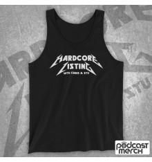 Hardcore Listing with Chris & Stu Metallica Inspired Logo Tank Top Vest