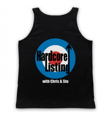Hardcore Listing with Chris & Stu The Who Inspired Logo Tank Top Vest