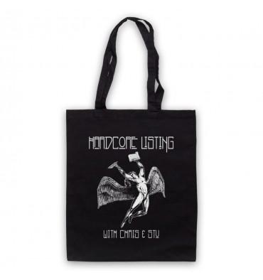 Hardcore Listing with Chris & Stu Led Zeppelin Inspired Logo Tote Bag