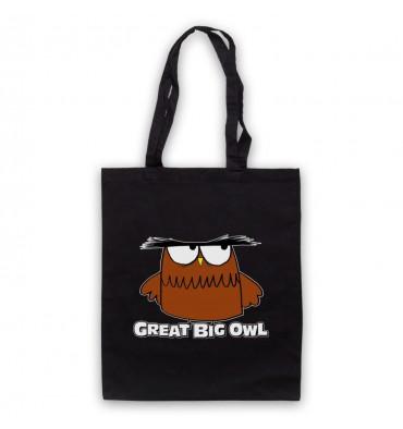 Great Big Owl Logo Tote Bag