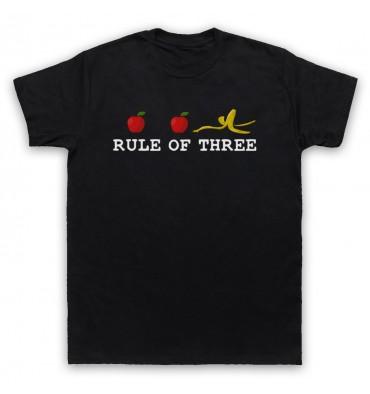 Rule Of Three Horizontal Logo T-Shirt