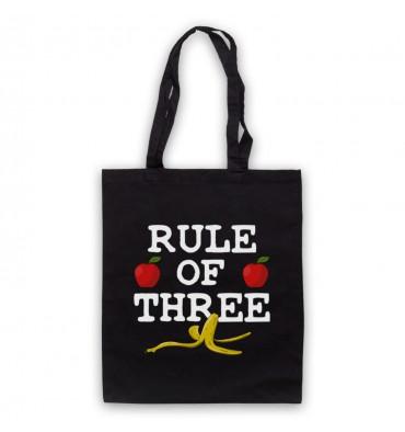 Rule Of Three Logo Tote Bag