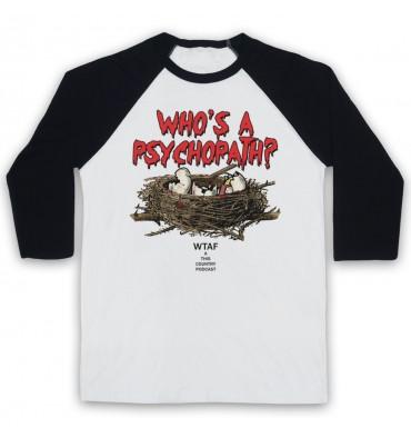 Who's A Psychopath? Mandy Tyson Eggs Baseball Tee