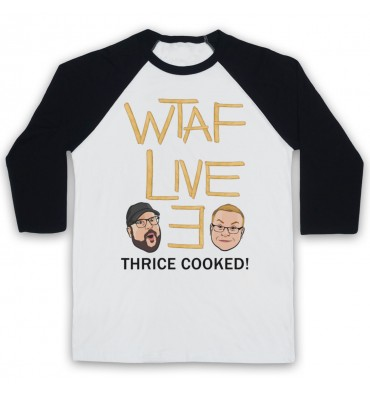 WTAF A This Country Podcast Live 3 Thrice Cooked Baseball Tee