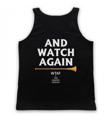 And Watch Again Martin Mucklowe Horn Tank Top Vest