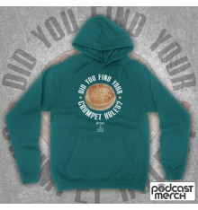 Did You Find Your Crumpet Holes? Kerry Mucklowe Hoodie