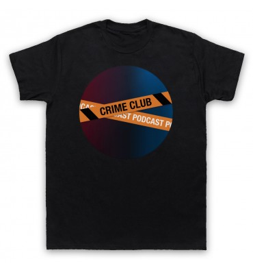 Crime Club Circle Large Logo T-Shirt