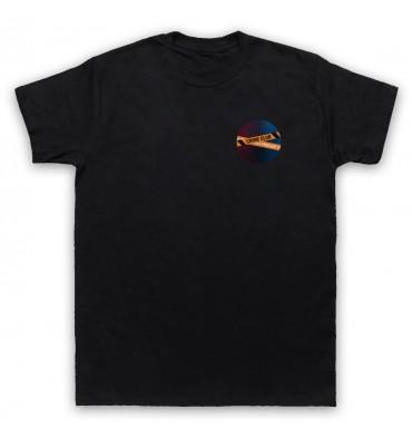 Crime Club Circle Left Chest Logo T-Shirt