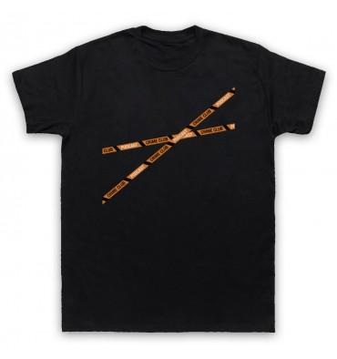 Crime Club Crime Tape Large Logo T-Shirt