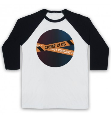 Crime Club Circle Large Logo Baseball Tee