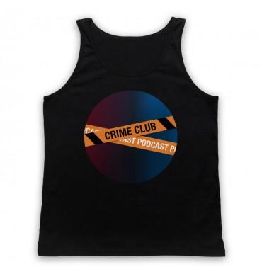 Crime Club Circle Large Logo Tank Top Vest