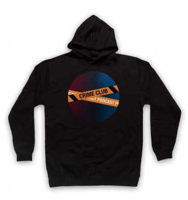 Crime Club Circle Large Logo Hoodie