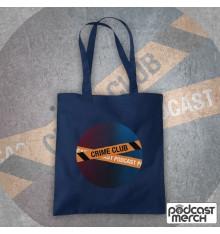 Crime Club Circle Large Logo Tote Bag