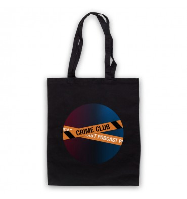 Crime Club Circle Large Logo Tote Bag