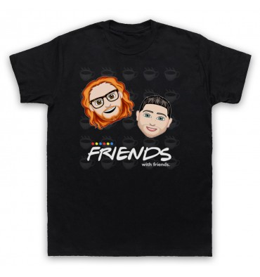 Friends With Friends Large Coffee Logo T-Shirt
