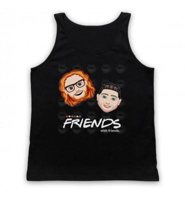 Friends With Friends Large Coffee Logo Tank Top Vest