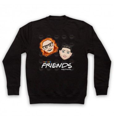 Friends With Friends Large Coffee Logo Sweatshirt