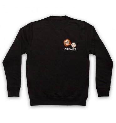 Friends With Friends Left Chest Logo Sweatshirt