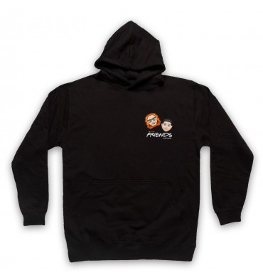 Friends With Friends Left Chest Logo Hoodie