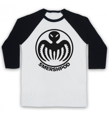 Smersh Pod Large Circle Logo Baseball Tee