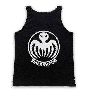 Smersh Pod Large Circle Logo Tank Top Vest