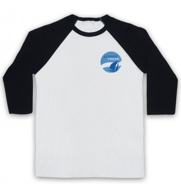 Always There Left Chest Circle Logo Baseball Tee