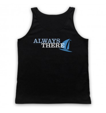 Always There Text Logo Tank Top Vest