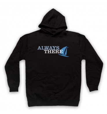 Always There Text Logo Hoodie