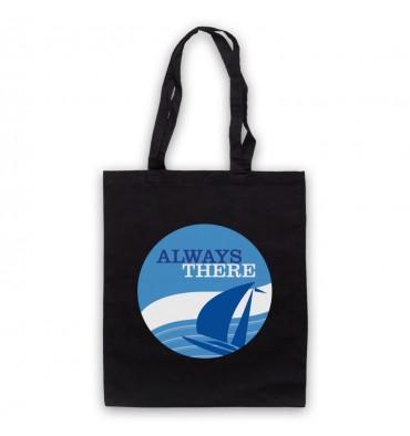 Always There Large Circle Logo Tote Bag