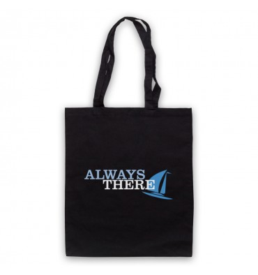Always There Text Logo Tote Bag