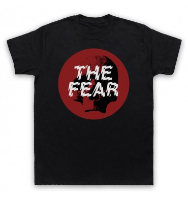The Fear Red Circle Large Logo T-Shirt