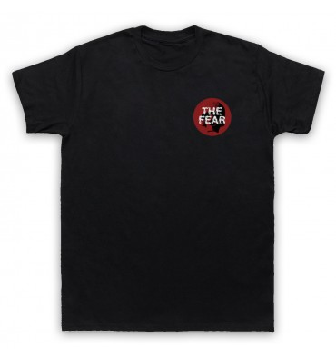 The Fear Red Circle Left Chest Logo T-Shirt