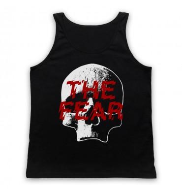 The Fear Skull Large Logo Tank Top Vest