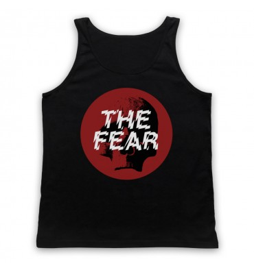 The Fear Red Circle Large Logo Tank Top Vest