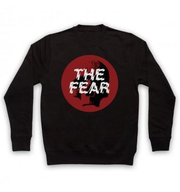 The Fear Red Circle Large Logo Sweatshirt