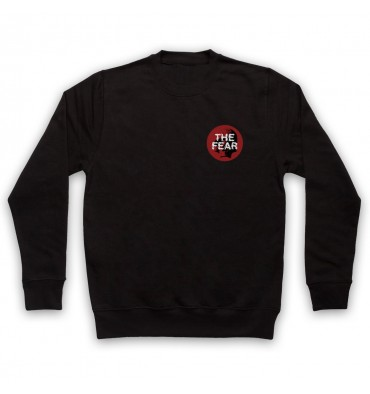 The Fear Red Circle Left Chest Logo Sweatshirt