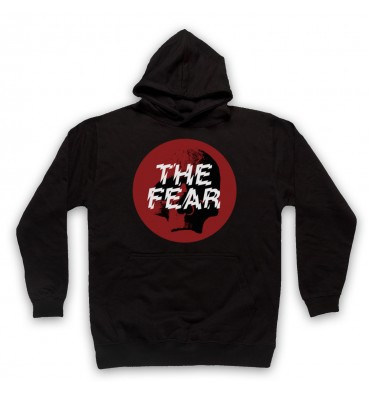 The Fear Red Circle Large Logo Hoodie